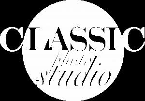 logo classic white